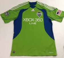 ADIDAS SEATTLE SOUNDERS FC Xbox MLS Men's Green Soccer Jersey Shirt Size Large