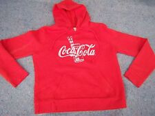 """Coca Cola """"It's The Real Thing"""" Hooded Sweatshirt"""