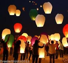 20PCS BIG Sky Lantern Flying Lantern Diwali Home decoration Wedding Lamp Flying