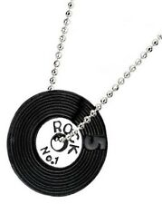Record Disc Necklace, Vinyl Funky Jewellery, Music Lovers, Quirky Jewellery