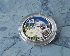* Neuseeland 1 Dollar 2007 PP , Ag.999er - 31,635 g. , Kapsel * Aoraki
