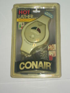 Conair Compact Hot Lather Cap Model HLM5CS Works with Cans of Shaving Cream