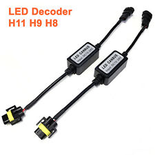 A1 2x LED Canbus Decoder H11 Anti Flicker Resistor Warning Canceller Capacitor
