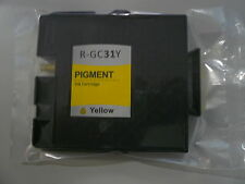 1 x Tintenpatrone wie Ricoh GC-31 yellow / 405691, 405704
