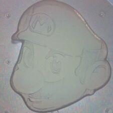 Flexible Resin Mold Super Mario Bros Face Head Mould Resin Supplies