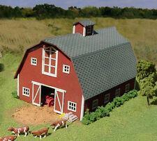 American Model Builders LaserKit S Scale Country Barn Kit #87 Bob The Train Guy