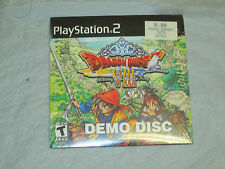 Dragon Quest VIII: Journey of the Cursed King (PlayStation 2, PS2)(Demo Disc)