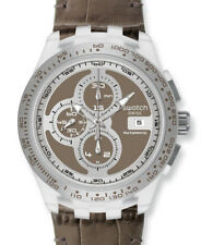 Swatch Irony Chrono Automatik Right Track Grey Scgk409 Neu/2013