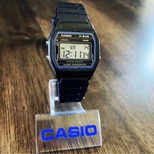 RARE Vintage 1986 Casio F-84W Digital Watch Made in Japan Module 587 w/ New Band
