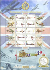 Isle of Man-Royal Flying Corps Aviation mnh sheet-244(Only 275 issued)