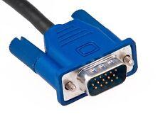 6 Ft Svga VGA M/M Monitor Cable W/ Ferrites