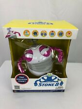 NEW Stone8 Interactive Robotic Friend / Robot w/ Personality - Pink