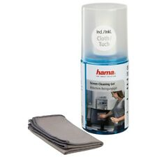 HAMA LCD/SCREEN Cleaning Fluid GEL (200ml) Large - Microfiber Cloth Included