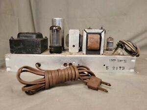 Vintage Magnavox AMP-197-20 Single-Ended Stereo 6BQ5 EL84 Tube Amplifier
