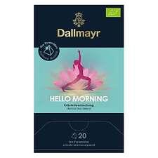 Dallmayr Tee Pyramiden Hello Morning Bio 20 x 2,5g