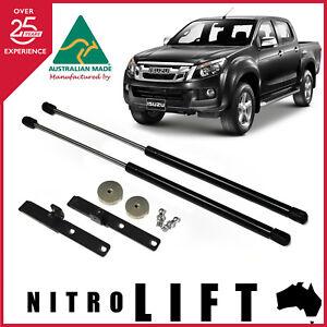 Nitrolift Isuzu D Max DMax 2012-Onwards Bonnet Gas Struts Dampers Lift Support