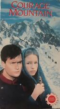 Courage Mountain (VHS, 1999) Charlie Sheen, Leslie Caron