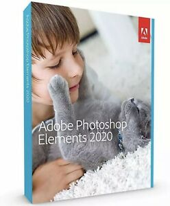 New Sealed Adobe Photoshop Elements 2020 - PC/Mac Disc Version🌟‼️✅✅✅🌟🌟🌟
