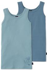 Schiesser Niños Camiseta interior 2 Paquete 140 152 164 176 95/5 co / EL Camisa