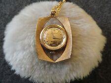 Pendant Wind Up Watch Swiss Made Bonnard Necklace