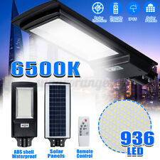 Outdoor 936LED Solar Powered Street Lights Radar Induction Remote Security Light