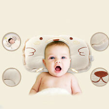 Soft Newborn Infant Positioners Cotton Pillow Cushion Flat Head Holder Sleeping
