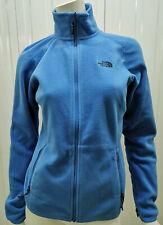 The North Face W 100 Glacier Full Zip Campanula Blue womens full zip Fleece