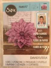 Sizzix Framelits Dies Large Dahlia 5 Dies 562395 By David Tutera New