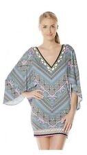 New! LAUNDRY By Shelli Segal Bohemian Tulip Swim Cover Up Sz L $134 NWT