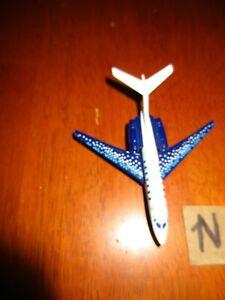 Mattel Matchbox 2007 Cessna Citiion X M0194 Die Cast Paint Chips Blue and White