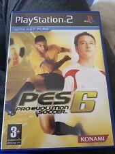 Pro Evolution Soccer 6 (Sony Playstation 2, 2006) - Versión Europea