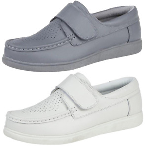 Wide Fitting Bowling Grass Indoor Grey White Bowls Shoes