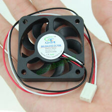12V 5cm 50mm 50x50x10mm 5010S Brushless Cooling Cooler Fan 3pin 9blades