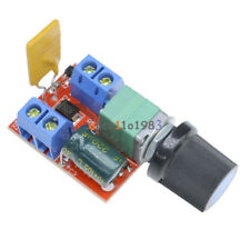 2PCS Mini 5A Motor PWM Speed Controller 3-35V Speed Control Switch LED Dimmer
