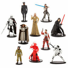 Star Wars The Last Jedi Deluxe Figurine Action Figurines Set of 10 ~ New