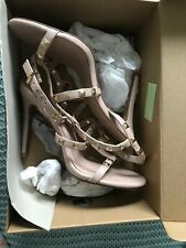 Next Nude Heels With Studs Size 5