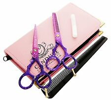 5.5 Professional Hair Cutting Thinning Scissors Shears Barber Salon Hairdressing