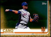 Robinson Cano 2019 Topps Update 5x7 Gold #US107 /10 Mets