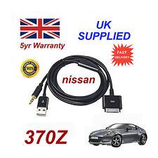 pour Nissan 370Z IPHONE IPOD USB & Câble aux rechange (Noir)