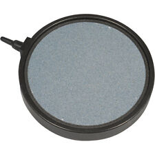 "5"" Diameter Plate Round Bubble Airstone For Koi Ponds Or Aquarium Fish Tanks"