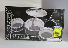DESKTOP DRUMSET Mini Drum Kit Complete w BOX 2015 Rock Out Five Below Age 4+