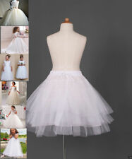 Flower Girl dress Children Underskirt Kid Wedding Crinoline Petticoat
