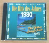 Die Hits des Jahres 1980: Folge 2 (CD), GUTER ZUSTAND