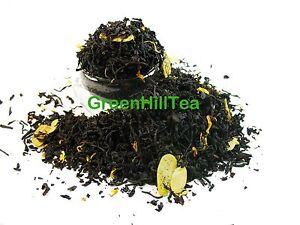 Almond natural flavored black tea loose leaf  tea 1  LB