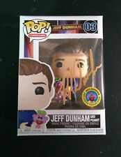 Funko POP! Autographed Jeff Dunham with peanut Exclusive LIMITED-EDITION