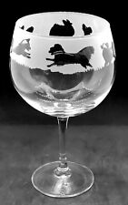 More details for papillon frieze boxed 70cl glass gin balloon
