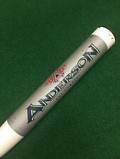 "ANDERSON NANOTEK FP LAUNCH PAD FASTPITCH SOFTBALL BAT 32/22 DROP -10 32"" 22oz"