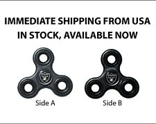 OAKLAND RAIDERS OFFICIAL LICENSED NFL LOGO FIDGET SPINNER, available now!