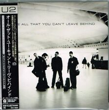 "U2 ""All That You Can't Leave Behind"" Japan LTD Mini-LP SHM-CD Paper Sleeve w/OBI"