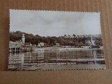 Postcard Upper Skelmorlie & Wemyss Bay Pier Ayrshire  Real photo 1962